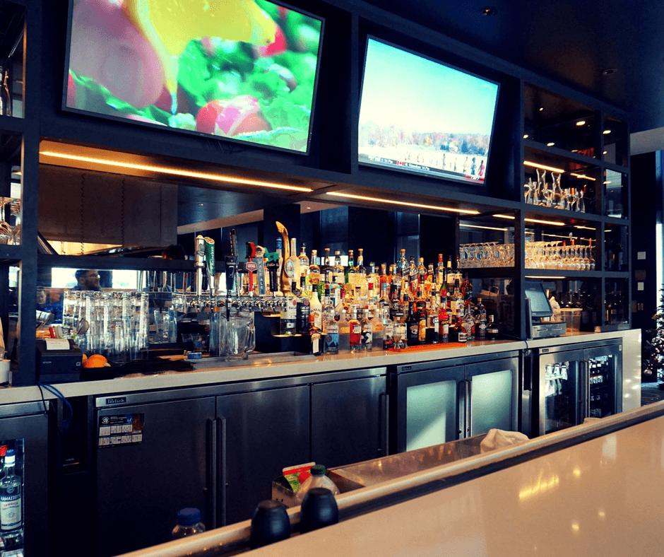 The SOCO Kitchen + Bar inside the Delta Hotel Toronto.