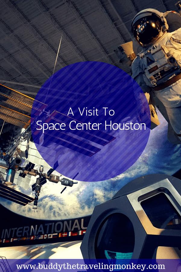 Pinterest Pin for Space Center Houston