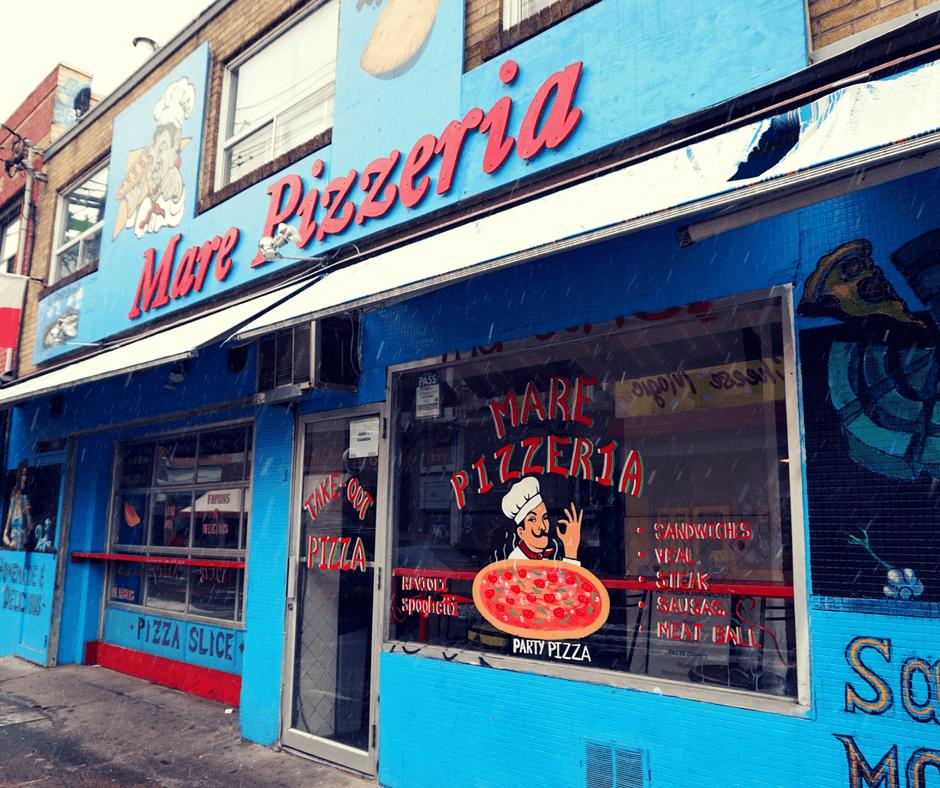 Pizzeria in Kensington Market, Toronto