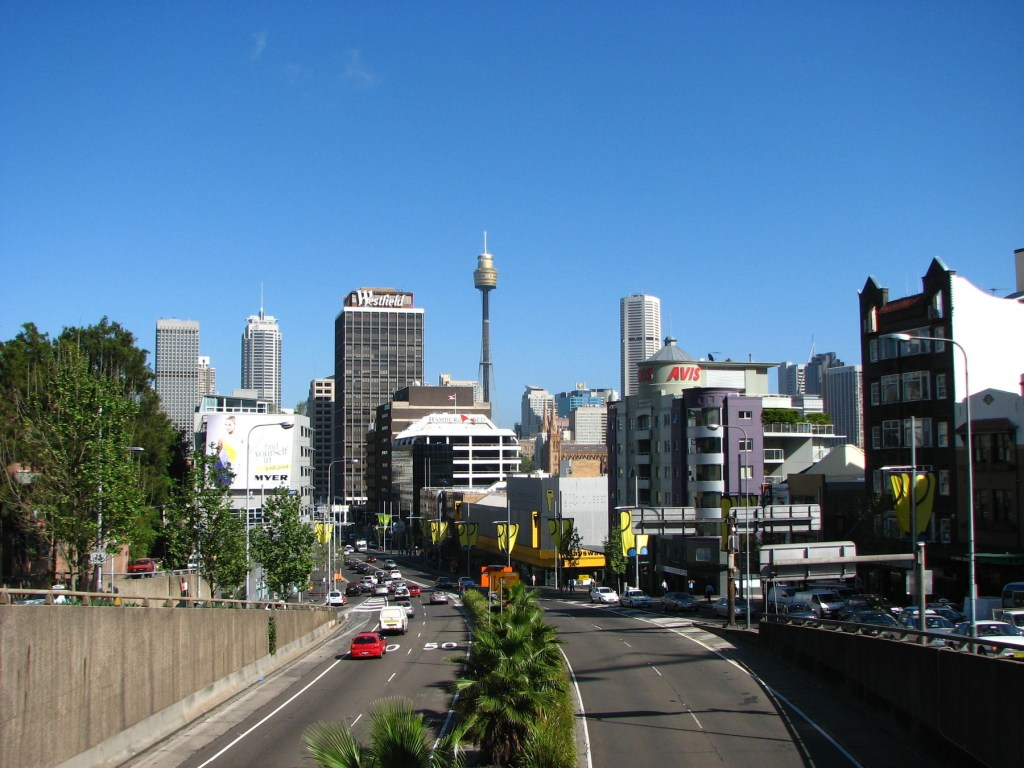 Kings Cross neighborhood in Sydney