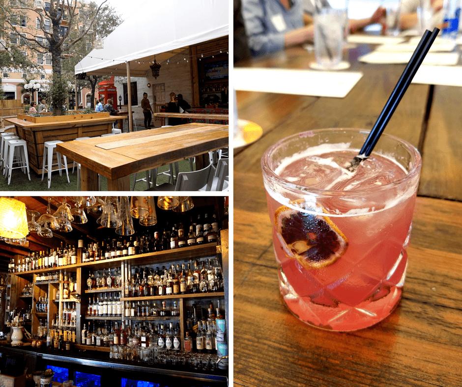 C.W.S Bar & Kitchen, whiskey bar, figgin around cocktail