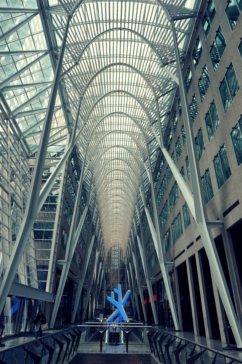 Inside Brookfield Place
