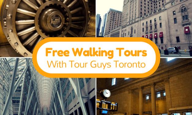 Free Toronto Walking Tours With Tour Guys Toronto