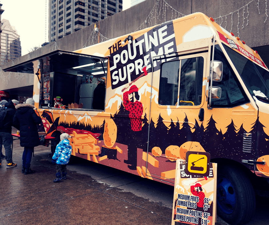 Where to Eat in Toronto - The Poutine Supreme food truck
