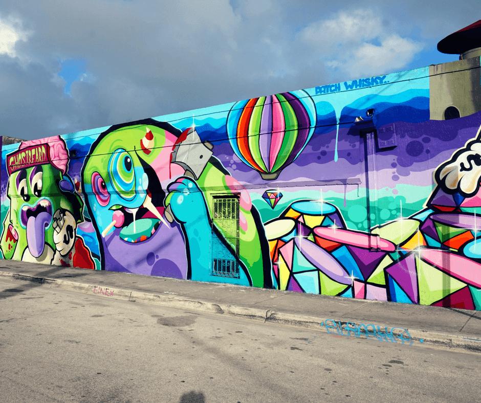Ghostbeard mural in Wynwood