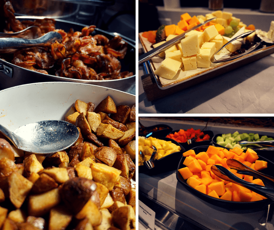 breakfast buffet at the Delta Toronto