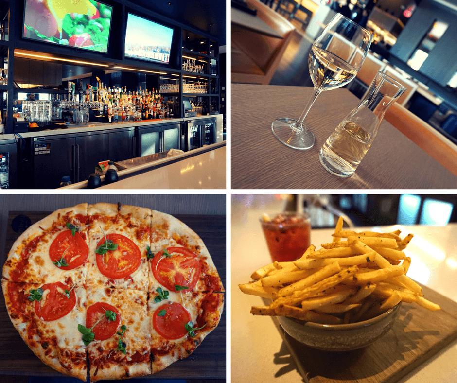 SOCO Kitchen + Bar bar, wine, pizza, french fries