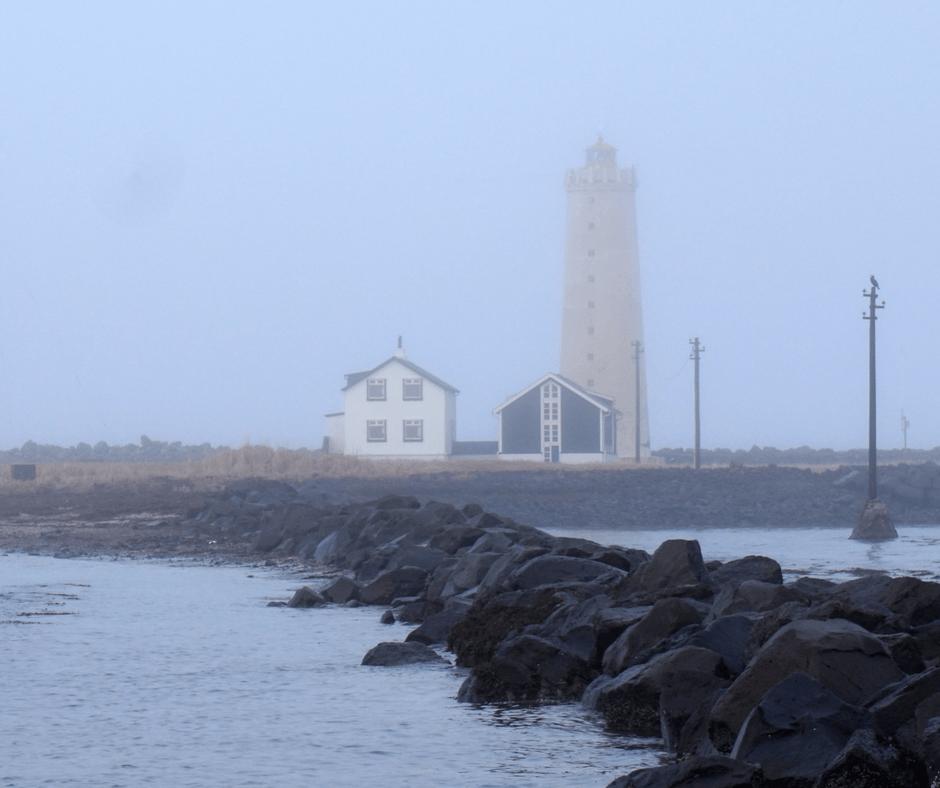Grotta Lighthouse outside of Reykjavik