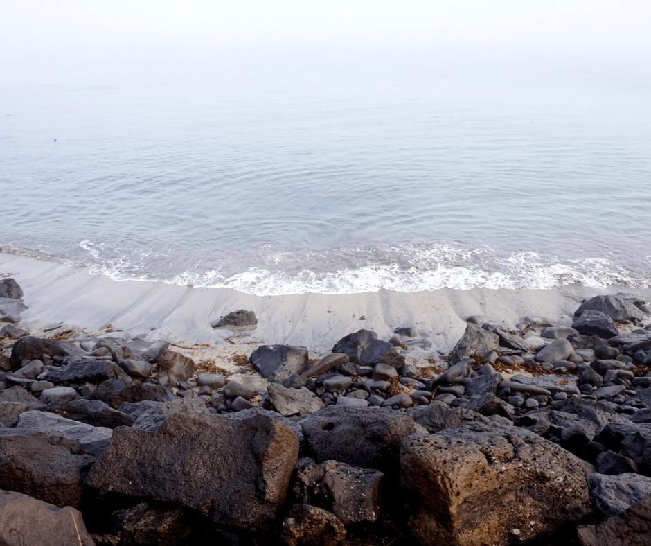 Coast of western Reykjavik