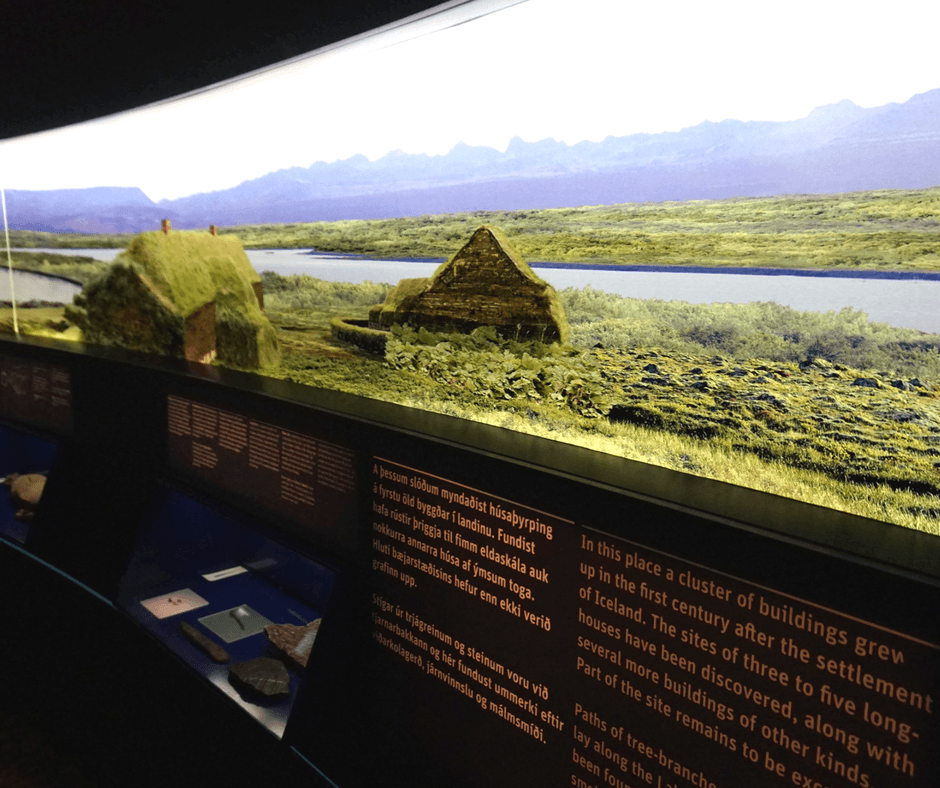 artifacts inside The Settlement Exhibition
