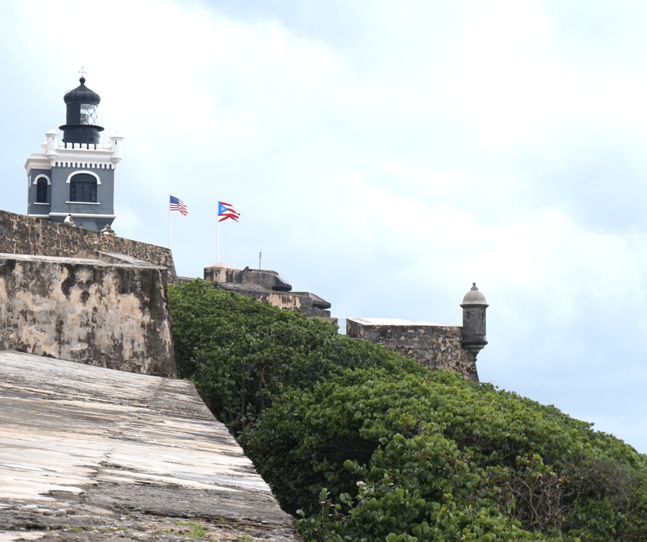 view from El Morro