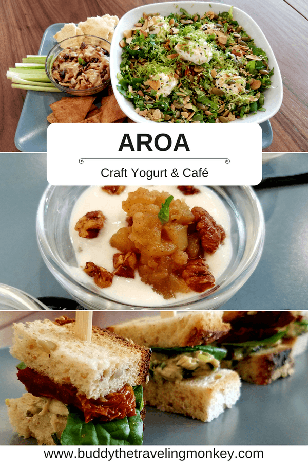 Aroa Craft Yogurt & Café in Plantation, Florida creates healthy, flavorful, and innovative dishes that the whole family will love!