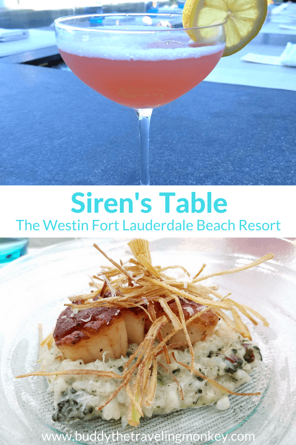Fort Lauderdale Beach's newest restaurant Siren's Table is sure to please with fresh food, signature cocktails, and great ocean views.