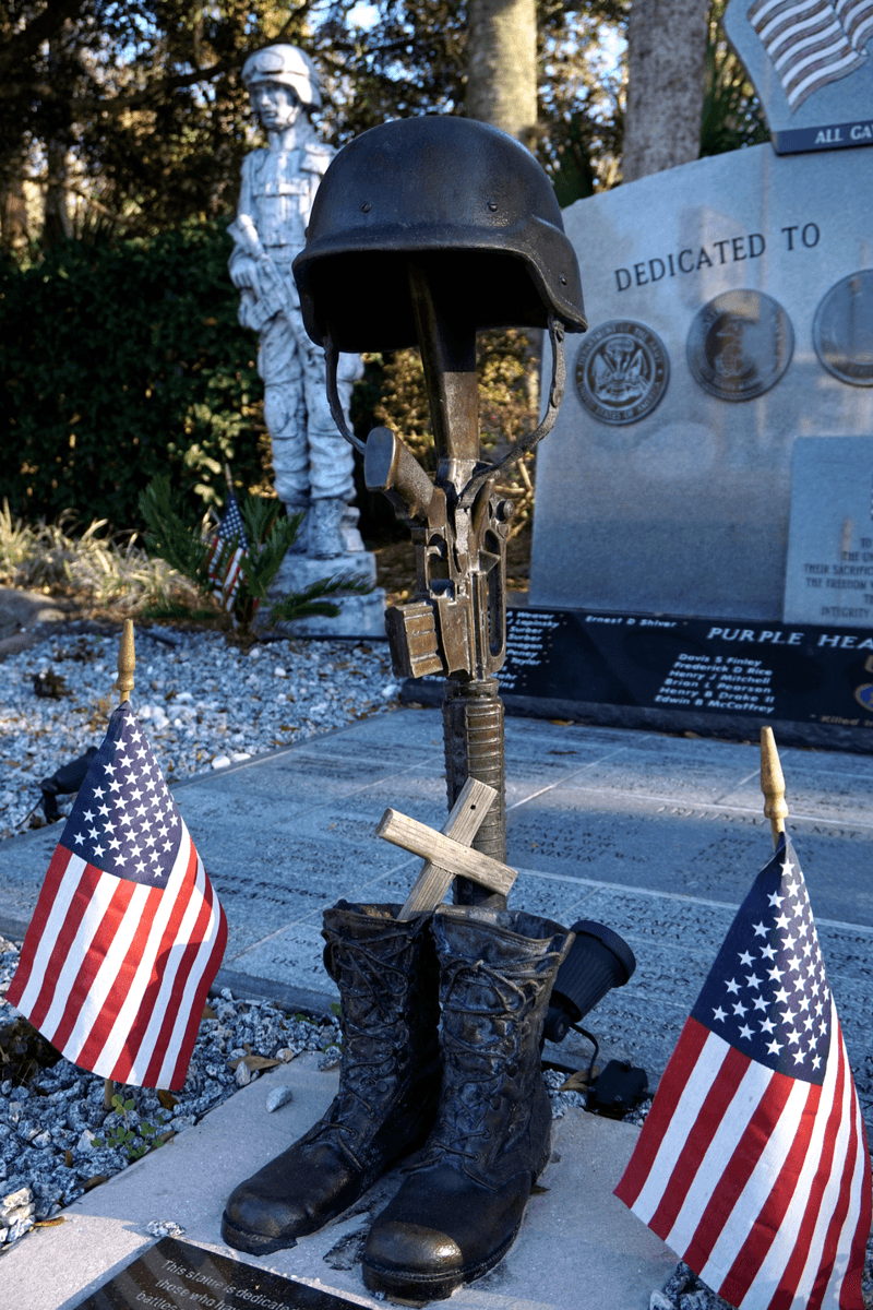 Old Homosassa Veteran's Memorial