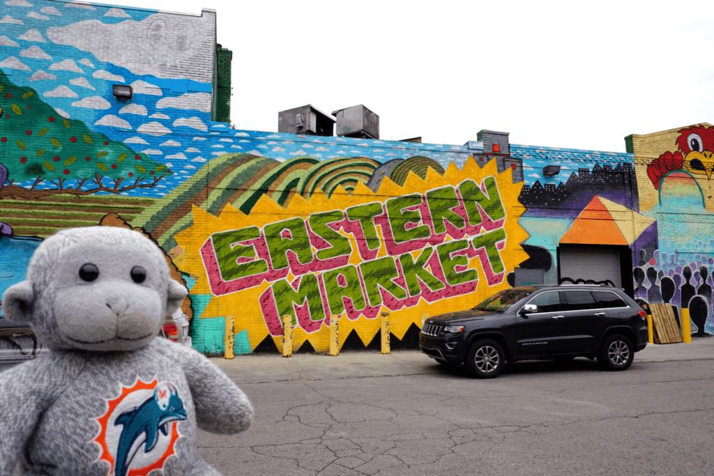 Detroit eastern market street art