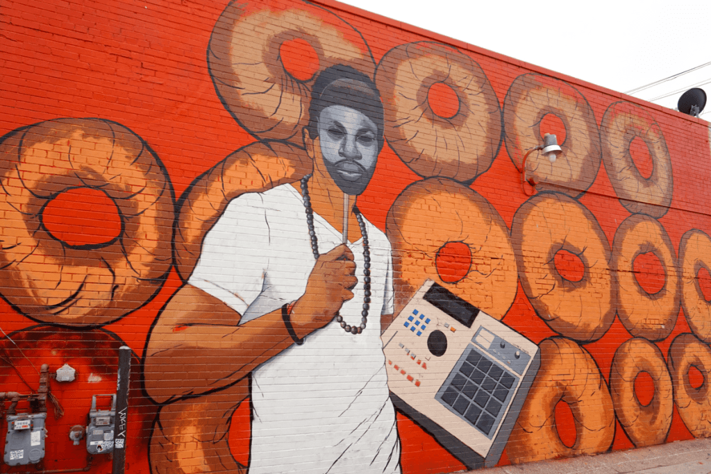 mural in the market by Tylonn Sawyer