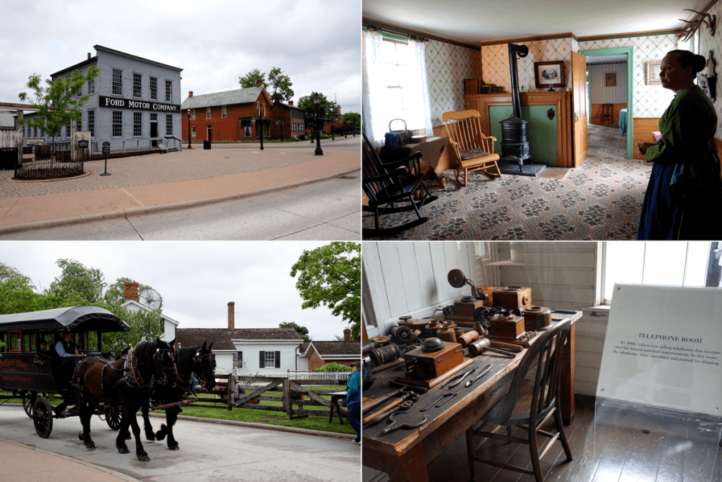 Greenfield Village historic buildings