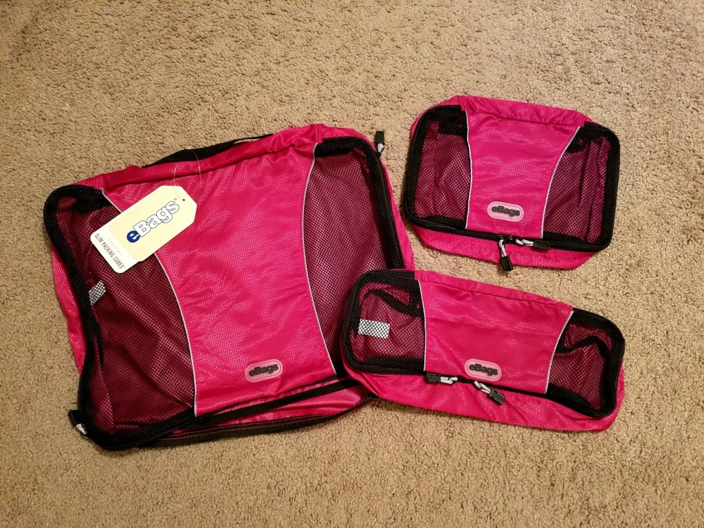 eBags packing cubes packing essentials