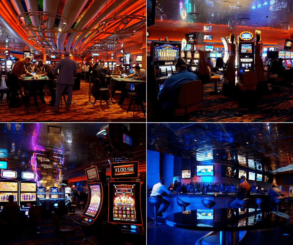 Inside Detroit casino