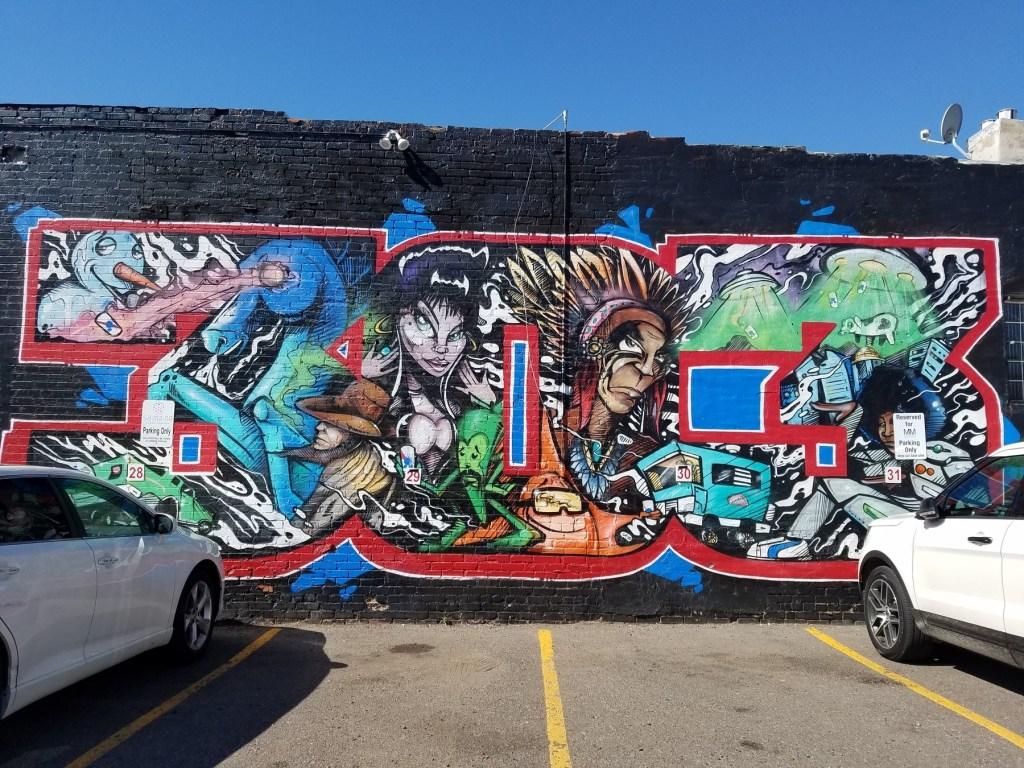 street art in denver's RiNo Art District