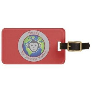 Zazzle luggage tag