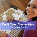 World Travel Tracker Map By Landmass Goods