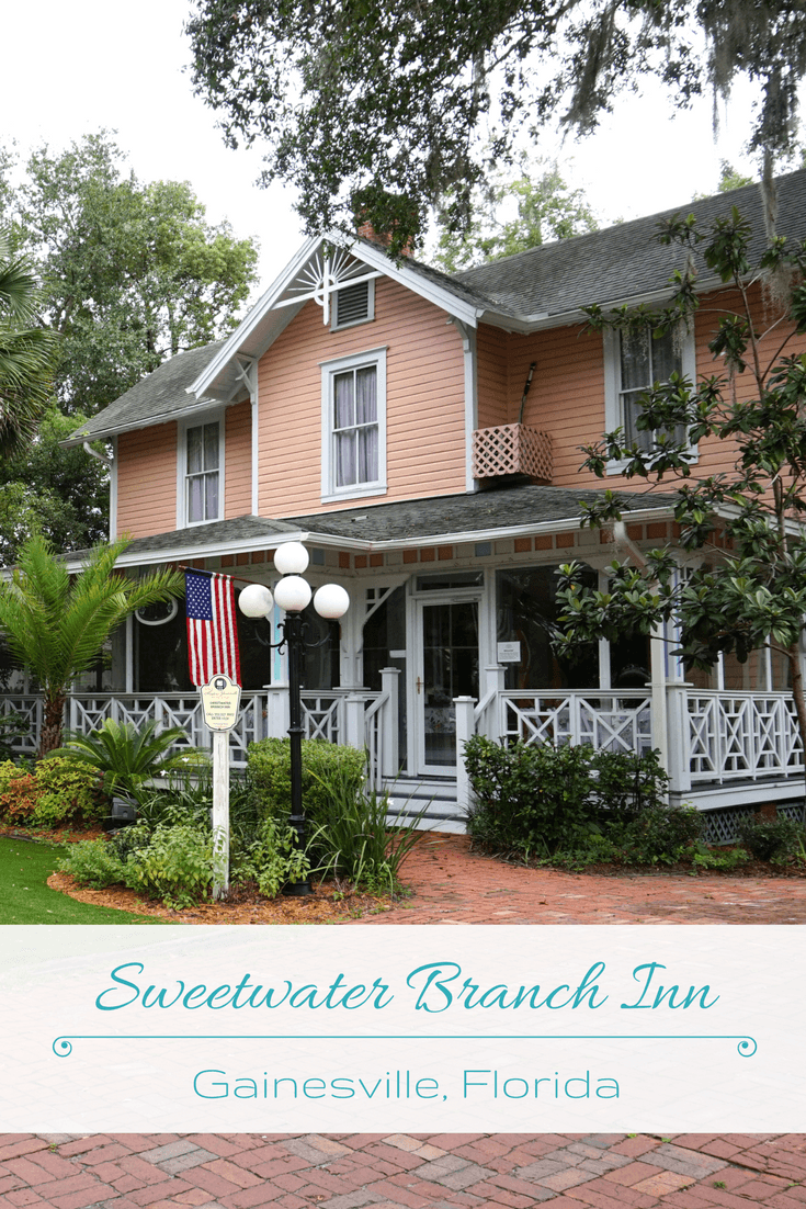 The best place to stay in Gainesville, Florida? The Sweetwater Branch Inn! This B&B has beautiful rooms and is near many major attractions.