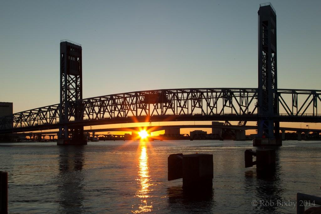 Downtown Jacksonville bridge