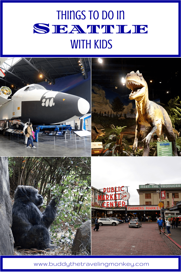 Our top suggestions for things to do in Seattle with kids; fun activities that the whole family will enjoy!