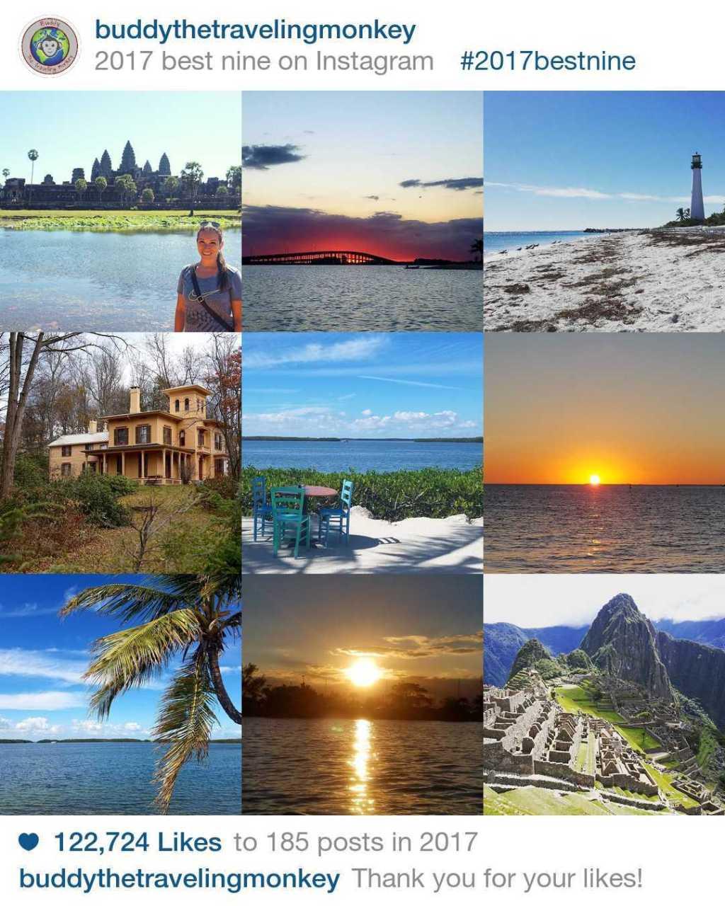 2017 Best Nine Instagram Travel Photos