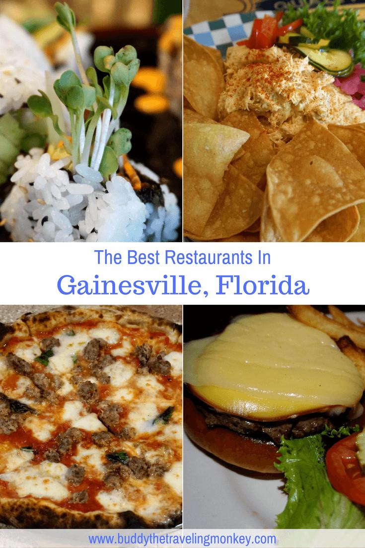 Best Restaurants In Gainesville Florida Buddy The Traveling Monkey