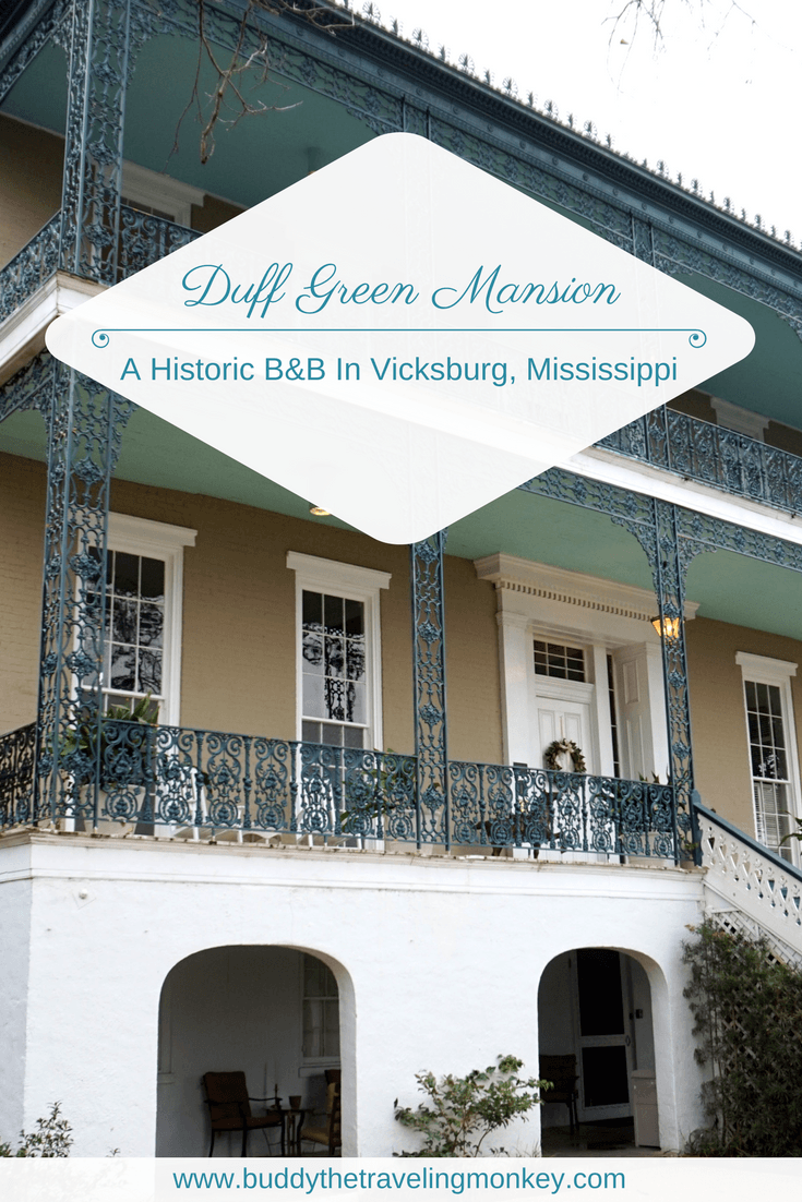 The Duff Green Mansion is a historic bed and breakfast in Vicksburg, Mississippi. Guests will enjoy rooms with period furniture, unique breakfast dishes that change daily, and a tour highlighting the extraordinary history of the home.