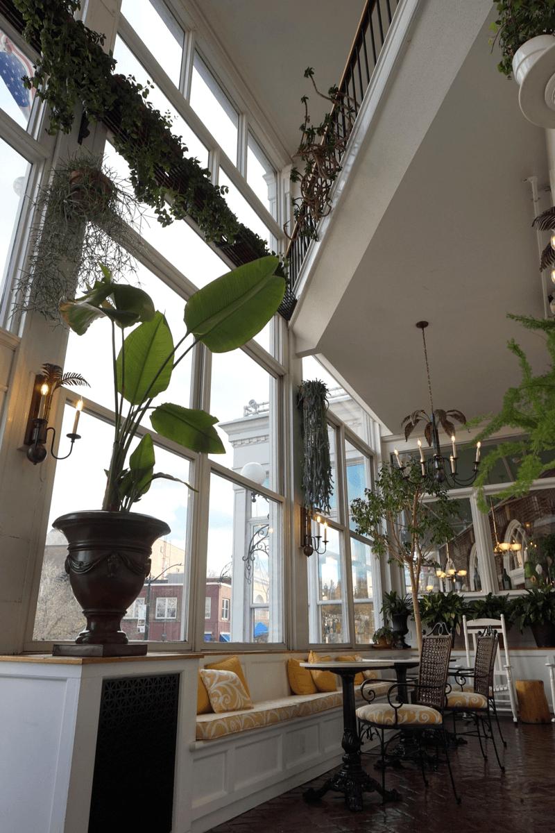 The Atrium inside The Hotel Northampton
