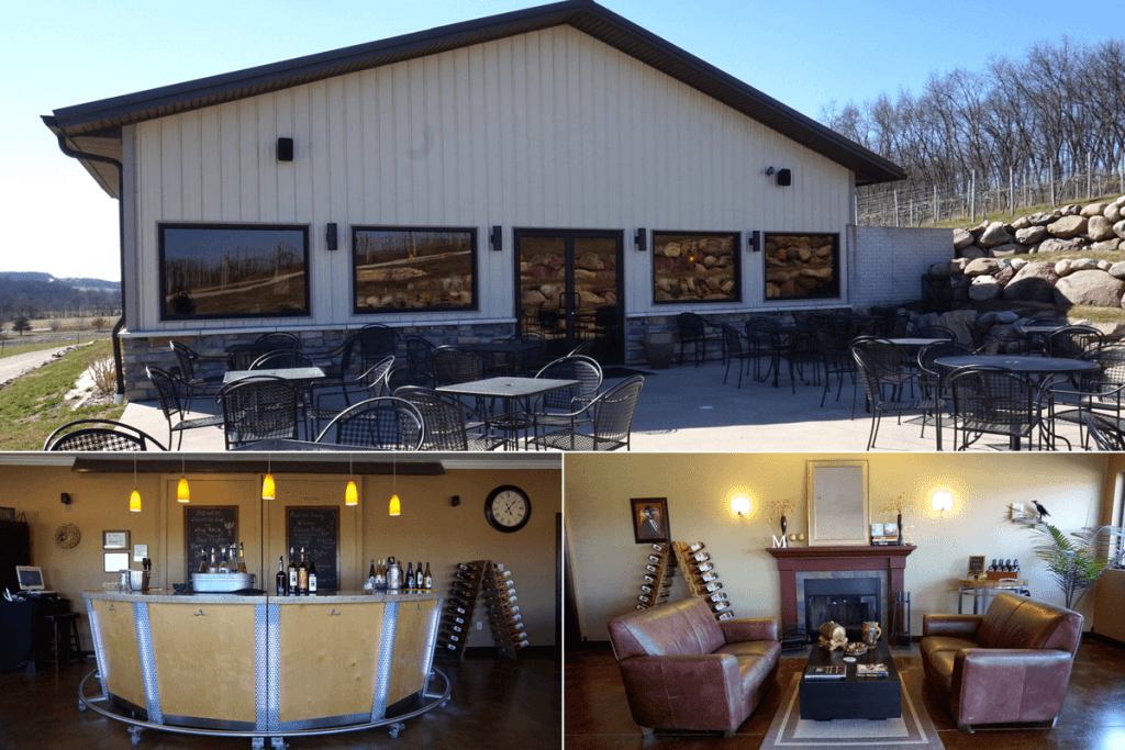 Madison County Winery is one of the many wineries in Iowa