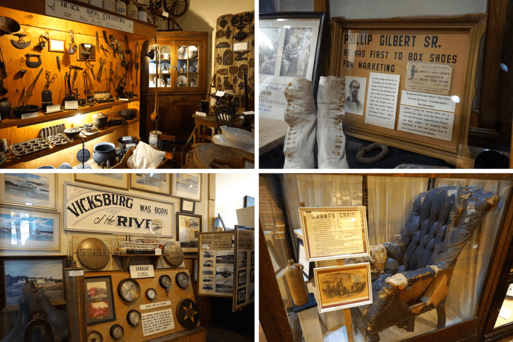 There are thousands of unique historical items inside the old court house museum