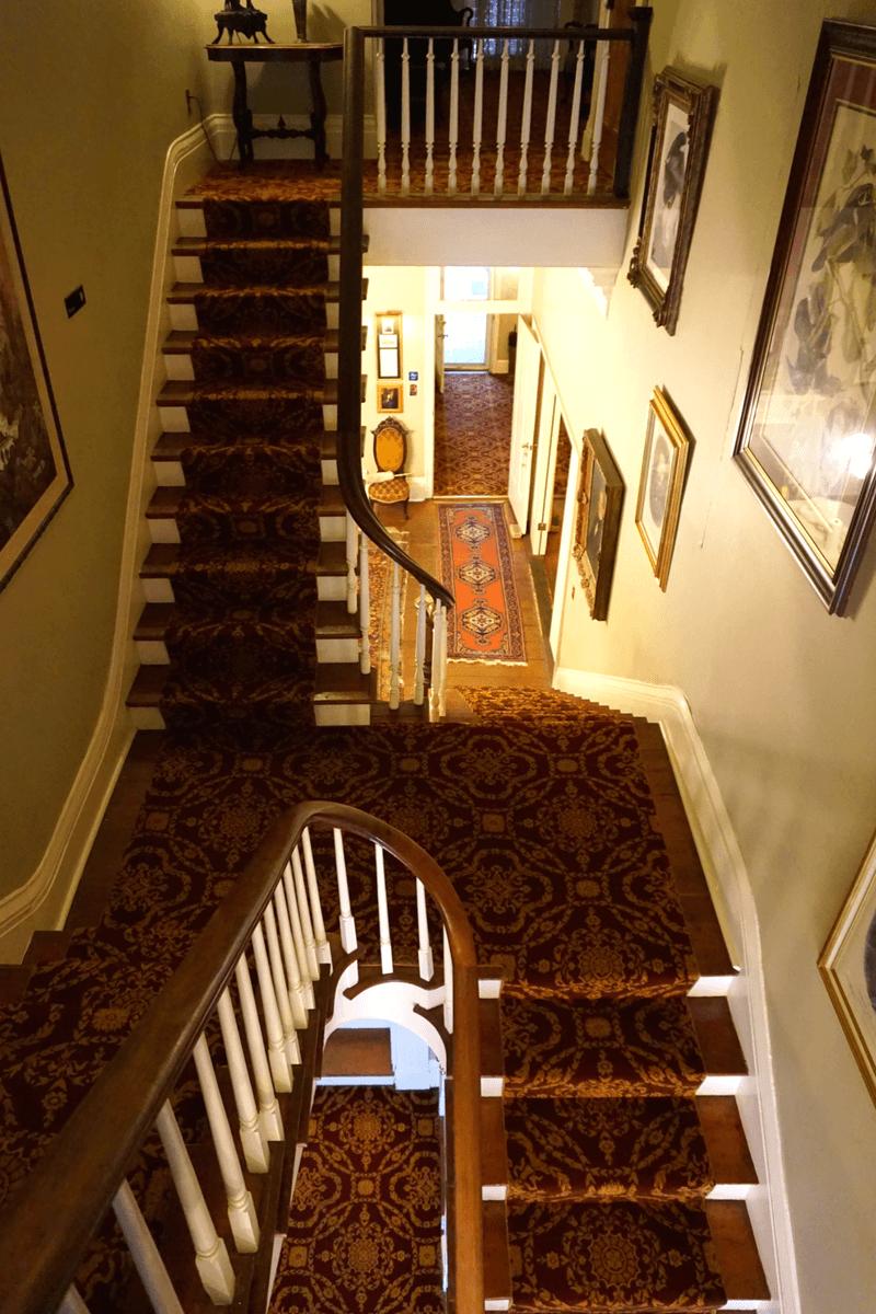 Anchuca has a very unique stairway!