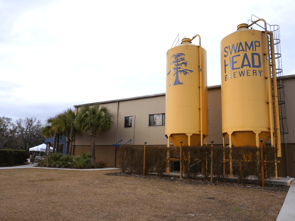 Swamp Head Brewery is a local Gainesville brewery