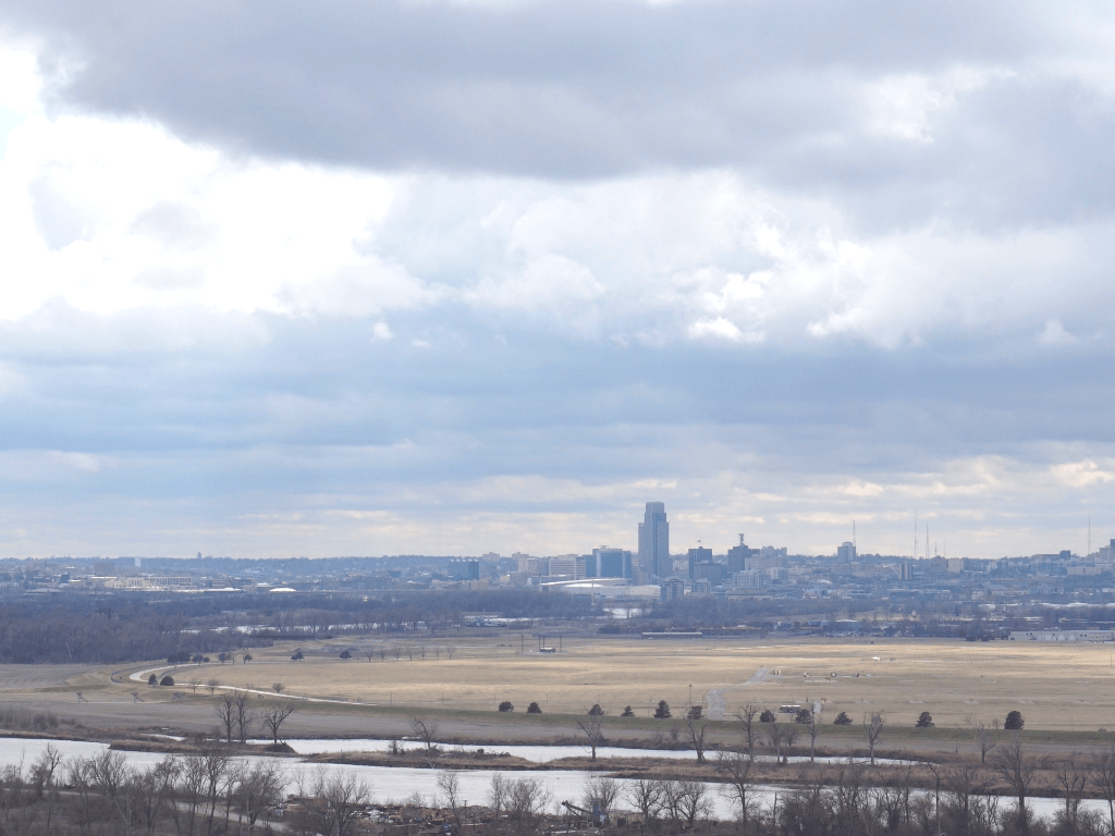 View from the Lewis and Clark Monument
