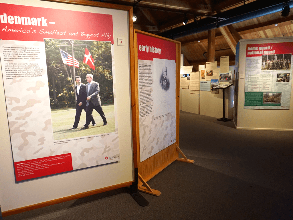 Learning about the relationship between Denmark and the US