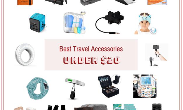 Best Travel Accessories Under $20