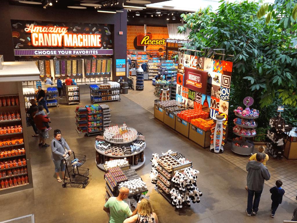 The Hershey Chocolate World Store has so many fun goodies!