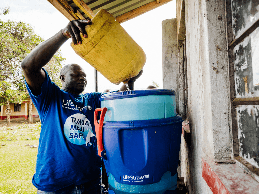 LifeStraw travels all over the world to provide communities with safe drinking water