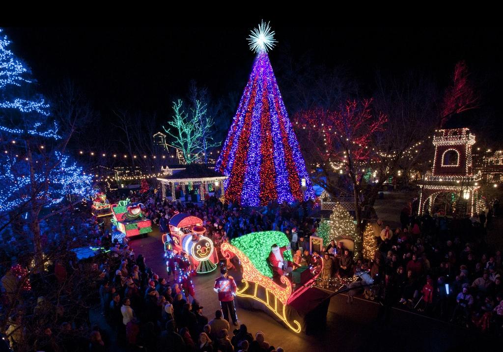 Branson, Missouri is a great winter destination in the US