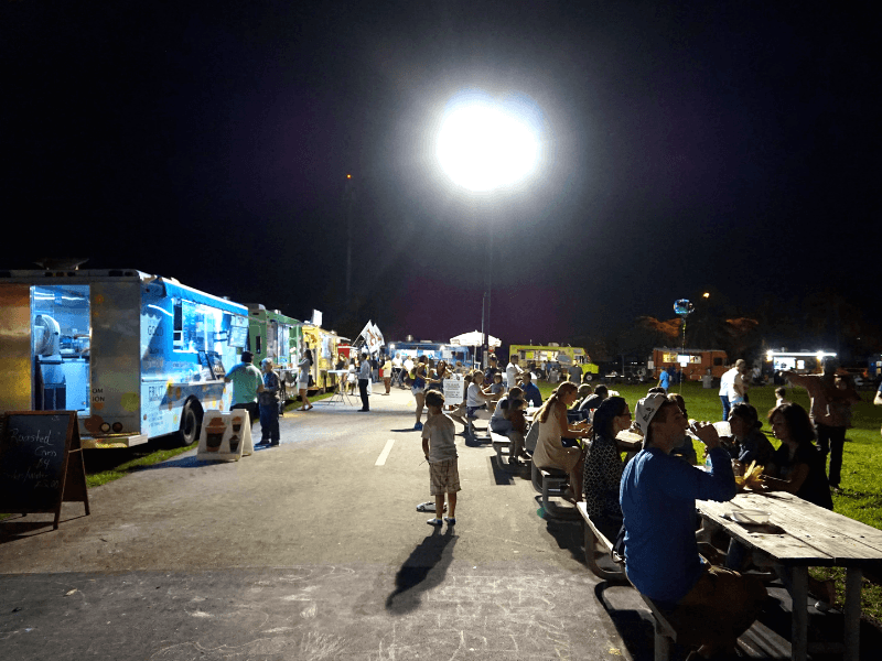There are a lot of Haulover Park food trucks to choose from