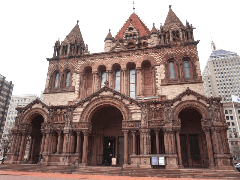 With one day in Boston, stop by Trinity Church