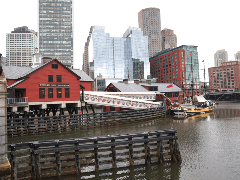 Can't spend one day in Boston without visiting the Boston Tea Party Museum
