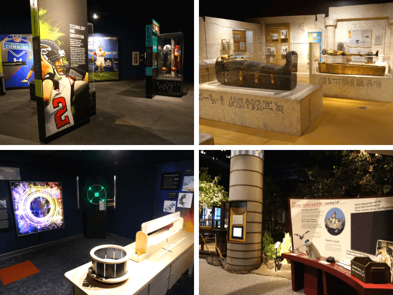 Lots of interesting exhibits at the Putnam Museum