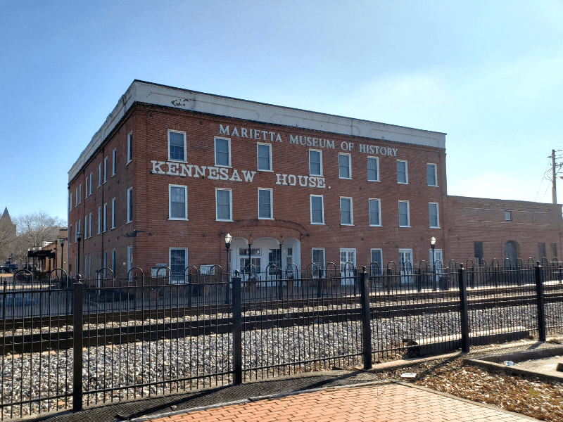 Visiting the Marietta Museum of History is one of the fun things to do in Marietta ga