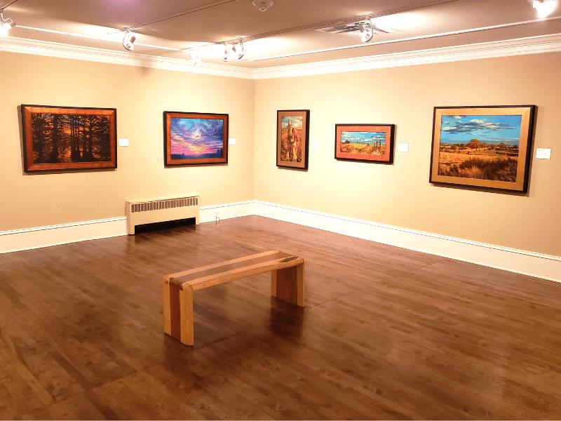 Work by Carole Pigott at the Marietta/Cobb Museum of Art