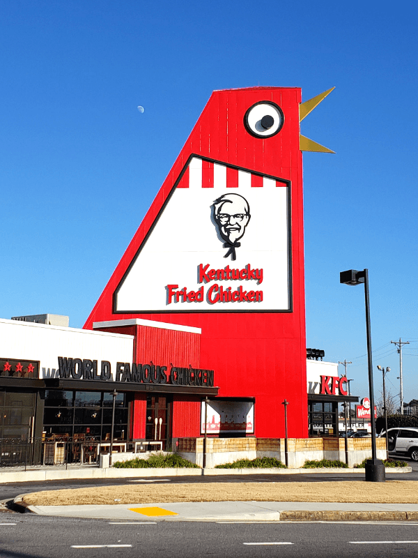 The Big Chicken in Marietta Georgia